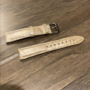 Michele alligator watch strap like new